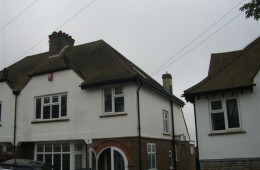 Loft Conversion Extension Brighton. Front Elevation – Before