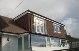 Loft Conversion Rear Dormer Side View Brighton