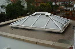 Pyramid Rooflight Hove